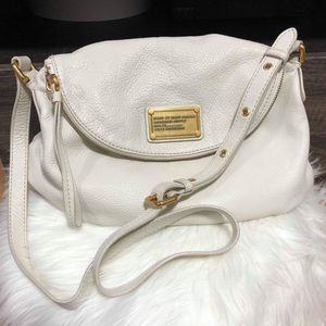 MARC JACOBS WHITE SHOULDER BAG EXCELLENT CONDITION
